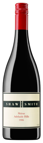 Shaw & Smith Shiraz 2006, Australia